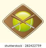 sport emblem design  vector...   Shutterstock .eps vector #282422759
