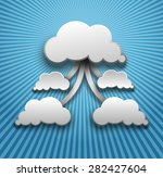cloud computing | Shutterstock . vector #282427604