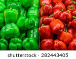 Group Of Fresh Green And Red...