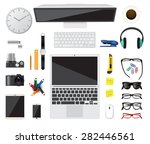 business top concept flat... | Shutterstock .eps vector #282446561