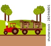 farm fresh design  vector... | Shutterstock .eps vector #282446801