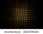 abstract golden background with ... | Shutterstock . vector #282454034