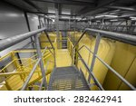 industrial interior with welded ... | Shutterstock . vector #282462941