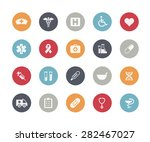 medical icons    classics series   Shutterstock .eps vector #282467027