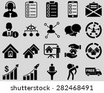 business  sales  real estate... | Shutterstock .eps vector #282468491