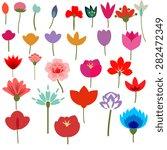 Different Decorative Flowers...