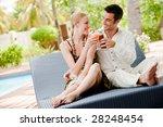 an attractive couple having... | Shutterstock . vector #28248454