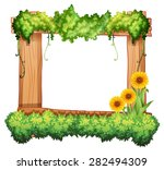 Wooden Frame Decorated With...