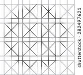 geometric pattern | Shutterstock . vector #282497621