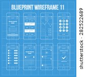 mobile app wireframe ui kit 11. ...