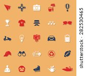 hipster classic color icons... | Shutterstock .eps vector #282530465