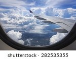 view of beautiful cloud and... | Shutterstock . vector #282535355