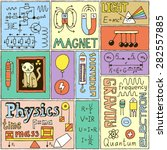 Physics Science Banners Set....
