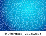 Blue Mosaic Background Looking...