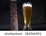 Tall Glass Full Of Light Beer...