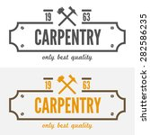 logo  labels  badges and... | Shutterstock .eps vector #282586235