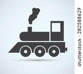 train icon | Shutterstock . vector #282588629