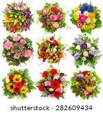 Flower Bouquet For Spring Summer - Fine Art prints