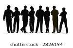 business crowd vector   Shutterstock . vector #2826194
