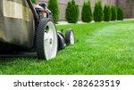 lawn mower | Shutterstock . vector #282623519