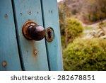 Secret Garden Door  Kylemore...