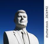 bust of john f. kennedy...
