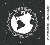 motivational and inspirational... | Shutterstock .eps vector #282698264