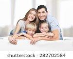 kids  love  parents. | Shutterstock . vector #282702584
