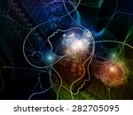 connected minds series.... | Shutterstock . vector #282705095