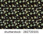 seamless floral pattern.... | Shutterstock . vector #282720101