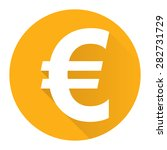 yellow circle euro currency...