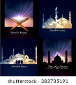 vector collection of ramadan... | Shutterstock .eps vector #282735191