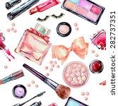 Watercolor Seamless Cosmetics ...