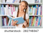 book  reading  women. | Shutterstock . vector #282748367