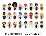avatar set | Shutterstock .eps vector #282762119