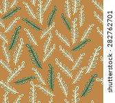 foliage vintage pattern vector | Shutterstock .eps vector #282762701