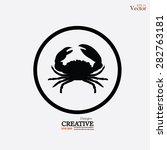 Crab Vector Icon.crab.vector...