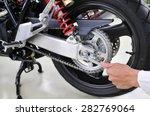 Adjustments On Motorbike