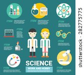 science infographics | Shutterstock .eps vector #282775775