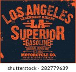 los angeles superior | Shutterstock .eps vector #282779639