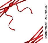ribbon background   Shutterstock .eps vector #282786887