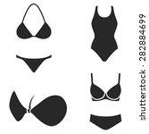underwear vector icon | Shutterstock .eps vector #282884699