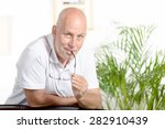 portrait of a middle aged man...   Shutterstock . vector #282910439