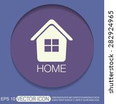 house icon. home sign | Shutterstock .eps vector #282924965