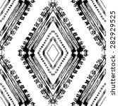 abstract grunge tribal seamless ... | Shutterstock .eps vector #282929525