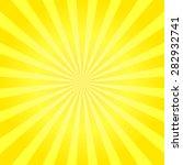 Yellow Shiny Starburst...