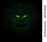 green eyed monster   raster | Shutterstock . vector #28294840