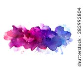 purple  violet  lilac and blue... | Shutterstock .eps vector #282992804