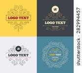 vintage flourishes calligraphic.... | Shutterstock .eps vector #282994457