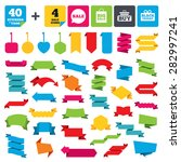 web stickers  banners and...   Shutterstock .eps vector #282997241